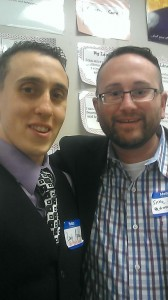 @appleLouChi and I at #edcampNJ